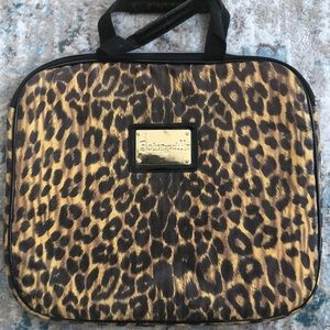 Betsey Johnson Cheetah-print Large Laptop Case